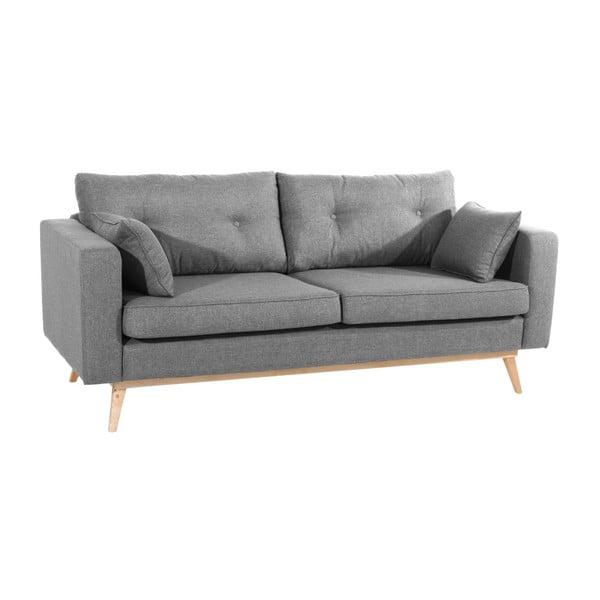 Canapea cu 3 locuri Max Winzer Tomme, gri
