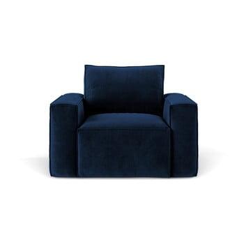Fotoliu Cosmopolitan Design Florida, albastru închis