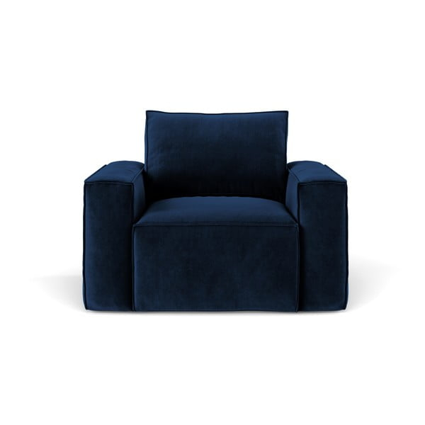 Tmavě modré křeslo Cosmopolitan Design Florida