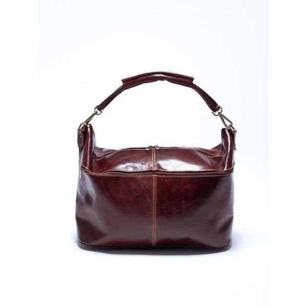 Kožená kabelka Roberta M. 314 Marrone