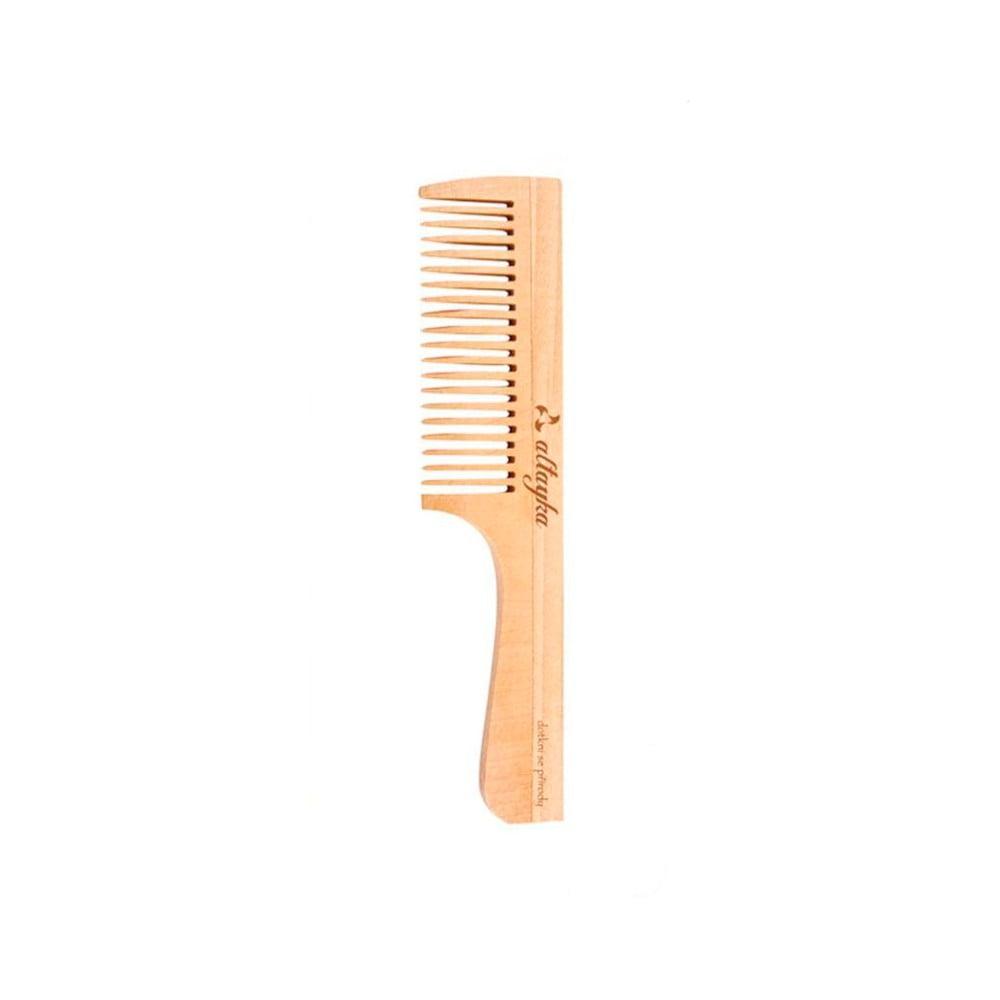 Hřeben z březového dřeva na krátké vlasy Altayka