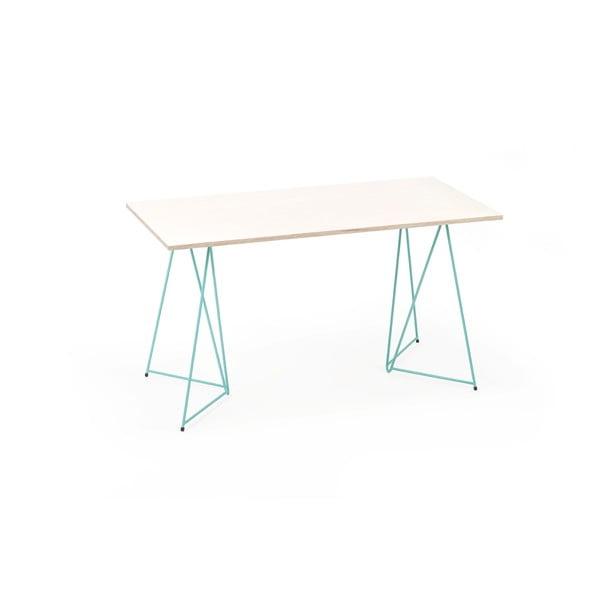 Zelená podnož ke stolu Master & Master Diamond Narrow, 70x55cm