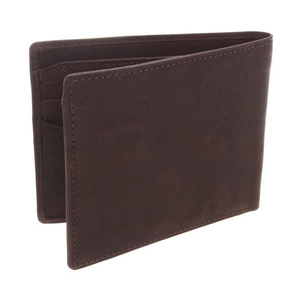 Kožená peněženka Nevis Brown