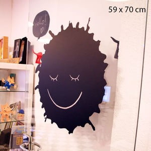 Samolepka Spatter Blackboard, 70x59 cm