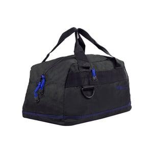 Černá cestovní taška s modrým lemem Les P'tites Bombes Toulouse, 17l