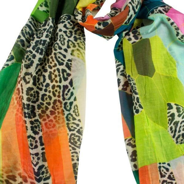Šátek s příměsí hedvábí Shirin Sehan - Mila