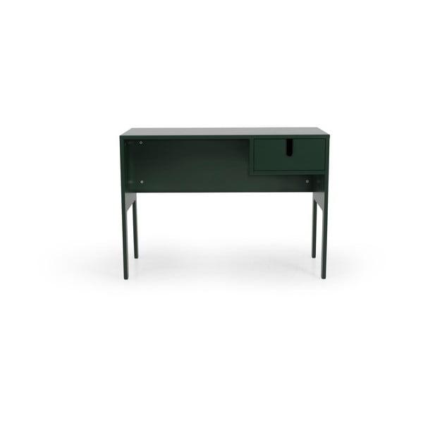 Ciemnozielone biurko Tenzo Uno