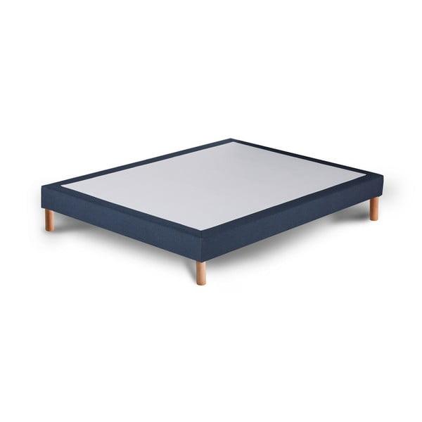 Ciemnoniebieskie łóżko kontynentalne Stella Cadente Maison Venus, 160x200 cm