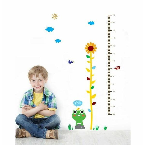 Samolepka Frog and Flower