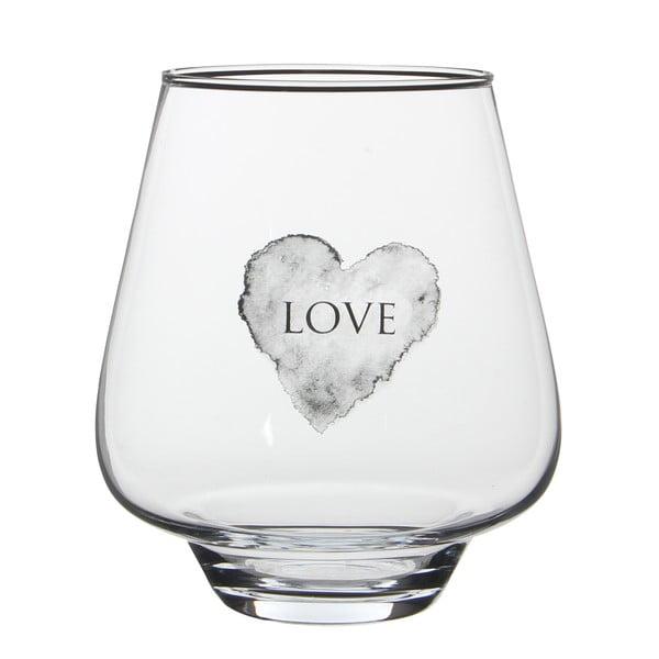 Stojan na svíčku/váza Nolan Love, 25 cm