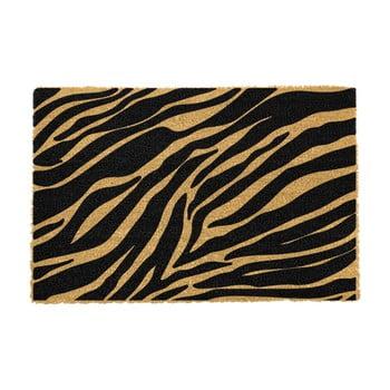 Covoraș intrare din fibre de cocos Artsy Doormats Zebra, 40 x 60 cm imagine