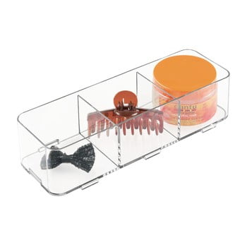 Organizator iDesign Clarity Cosmetics imagine