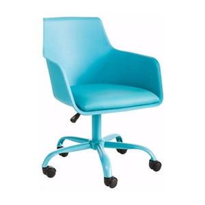 Tyrkysová nastavitelná kancelářská židle Støraa Leslie