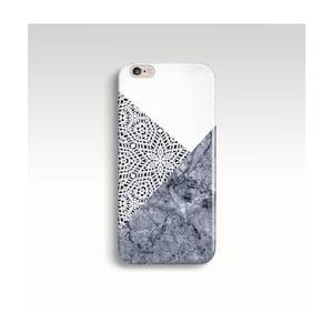 Obal na telefon Marble Mandala Grey pro iPhone 6+/6S+