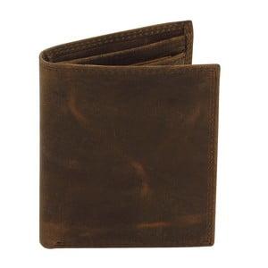 Hnědá kožená peněženka Friedrich Lederwaren Hunter