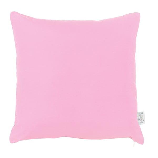 Ružová obliečka na vankúš Apolena Basic, 43×43 cm