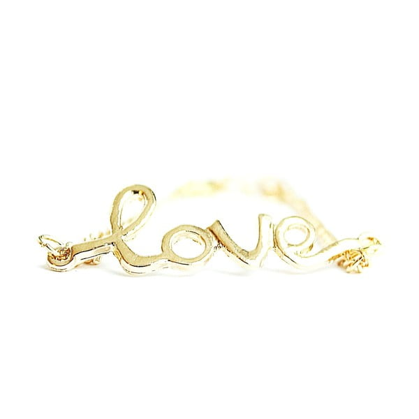 Náramek Golden Love