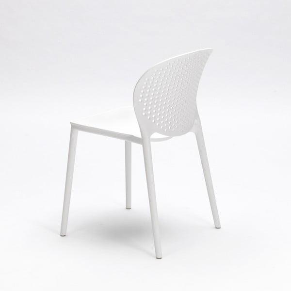 Sada 4 bílých židlí Design Twist Gavle