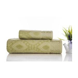 Sada 2ks ručníků Sal Green, 50x90 cm a 70x140 cm