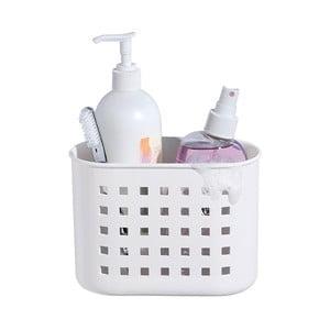 Bílý samodržící košík iDesign Mini Shower