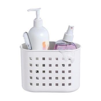 Coș cu ventuză iDesign Mini Shower, alb imagine