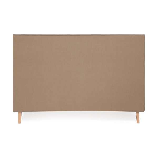 Postel ve velbloudí hnědé barvě Vivonita Kent Linen, 200x160cm