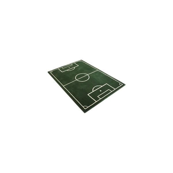Dětský zelený koberec Hanse Home Football Field,190x280cm