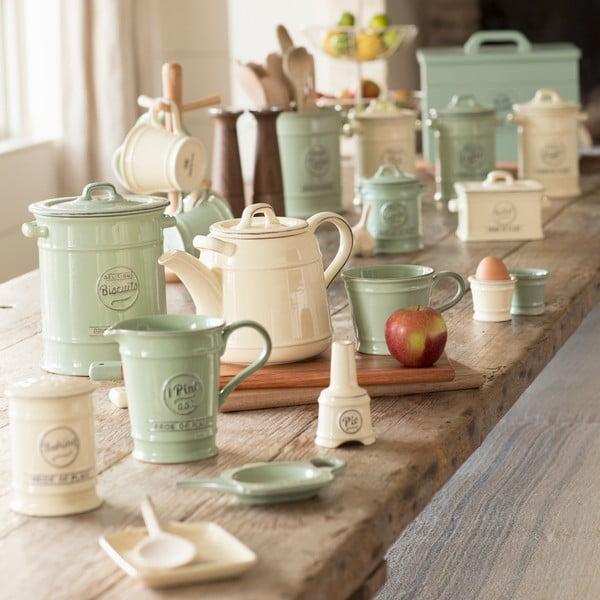Zelená keramická dóza na kuchyňské náčiní T&G Woodware Pride Of Place