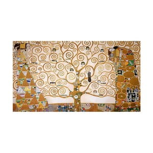 Reprodukce obrazu Gustav Klimt Tree of Life, 90x50cm