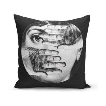 Față de pernă Minimalist Cushion Covers BW Lio, 45 x 45 cm imagine