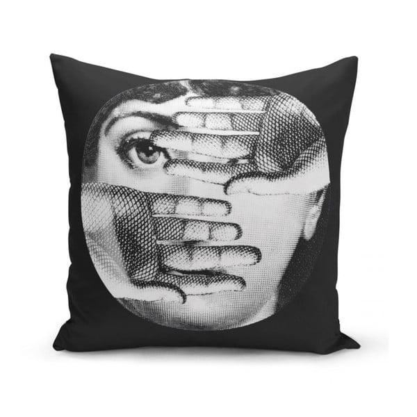 Povlak na polštář Minimalist Cushion Covers BW Lio, 45 x 45 cm