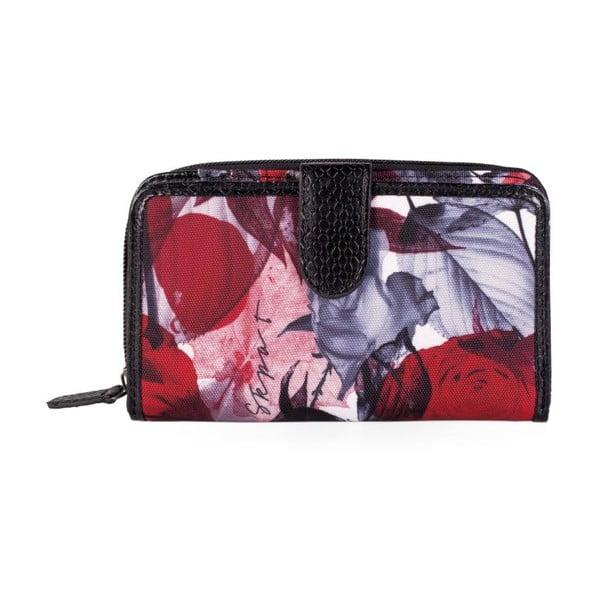 Barevná peněženka SKPA-T Leaves, 16 x 9 cm