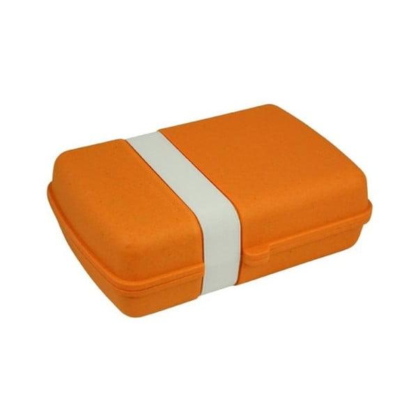 Svačinový box Zuperzozial, oranžový
