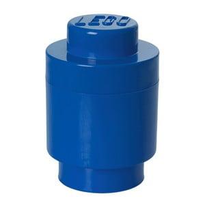 Modrý úložný kulatý boxík LEGO®
