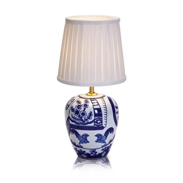 Veioză Markslöjd Goteborg, înălțime 33 cm, albastru - alb