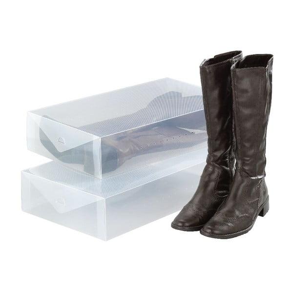 Pack 2 db csizmatároló doboz - Wenko