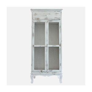 Dřevěná skříň Grey Days, 135x60 cm