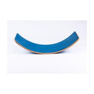Velké modré bukové houpací prkno Utukutu Woudie, délka117cm
