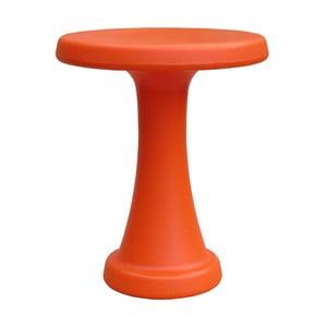 Scăunel OneLeg, 32cm, portocaliu