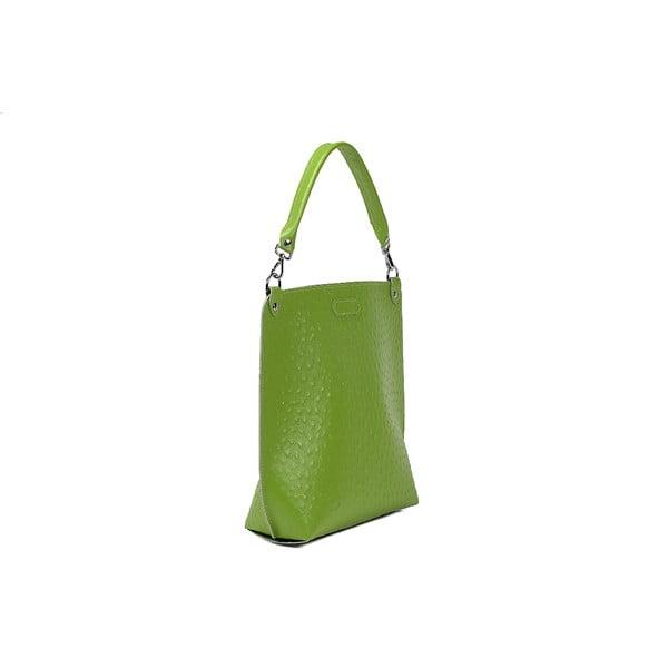 Kabelka Alice Ostrich Green