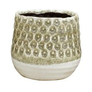 Pískově hnědý květináč z keramiky Strömshaga Anten, Ø 16 cm
