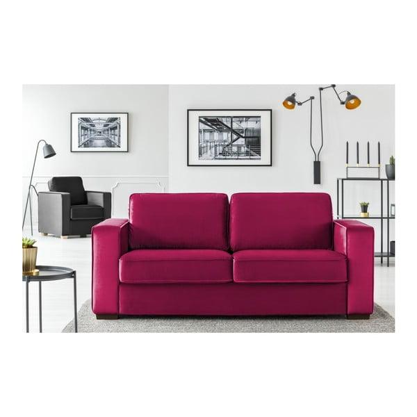 Fuchsiově růžová dvojmístná pohovka Cosmopolitan Design Denver