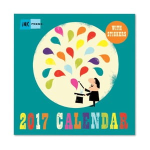 Calendar Portico Designs Ink Press SQ