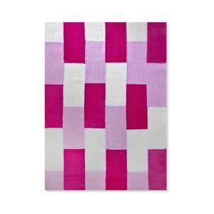 Dětský koberec Mavis Pink Lines, 100x150 cm