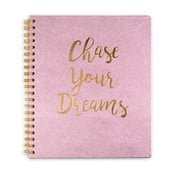 Agendă Tri-Coastal Design Chase Your Dreams