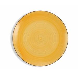 Sada 6 jasně žlutých talířů Villa d´Este Baita, ø 27 cm