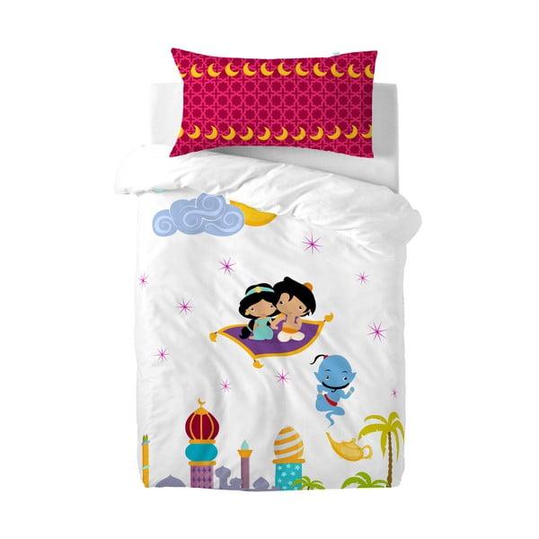 Dětské bavlněné povlečení na peřinu a polštář Mr. Fox Aladdin, 115x145cm