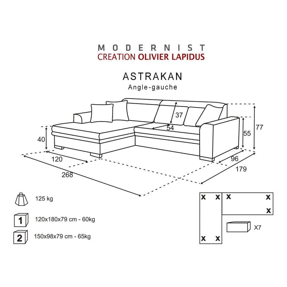 erno r ov pohovka modernist astrakan lev roh bonami. Black Bedroom Furniture Sets. Home Design Ideas