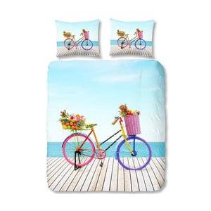 Lenjerie de pat din bumbac Bicycle, 140 x 200 cm