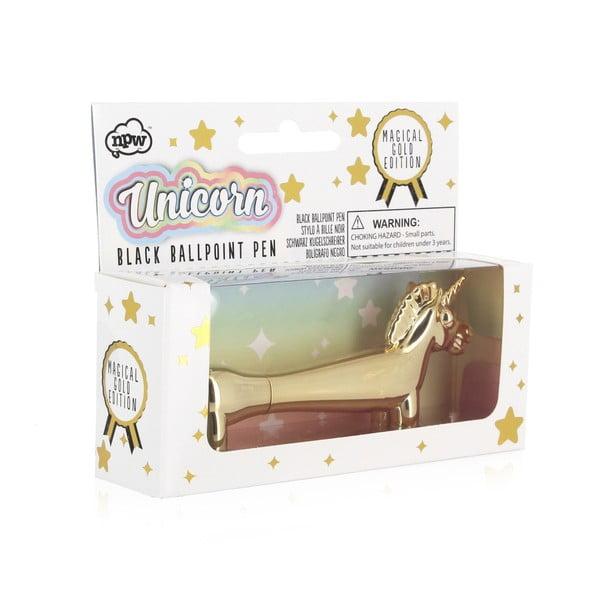Pix în formă de unicorn npw™ Pups To Go Unicorn, auriu